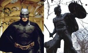 Batman and Achilles
