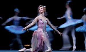 Lauren Cuthbertson in Cinderella at the Royal Opera House in 2004