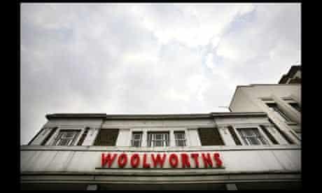 Woolworths shop in Camden, London, in 2007