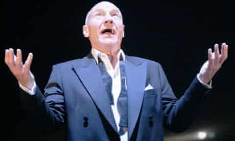 Patrick Stewart as Laertes in Hamlet