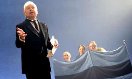 Derek Jacobi as Malvolio in Twelfth Night. Photograph: Tristram Kenton