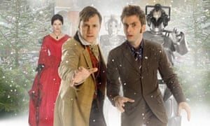 Dervla Kirwan, David Morrissey and David Tennant in The Next Doctor