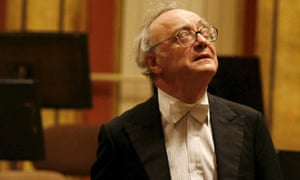 Alfred Brendel at his farewell concert in Vienna