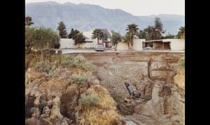 After a Flash Flood, Rancho Mirage, California