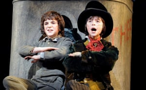 Harry Stott and Robert Madge in Oliver!
