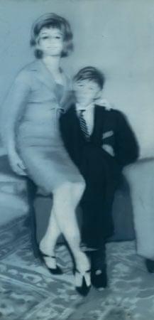 Helga Matura mit Verlobtem by Gerhard Richter