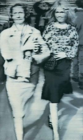 Mutter und Tochter B by Gerhard Richter