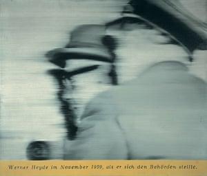Herr Heyde by Gerhard Richter