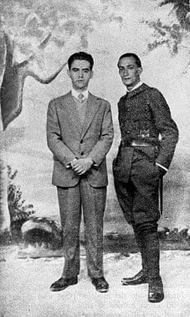 Federico Garcia Lorca and Salvador Dali