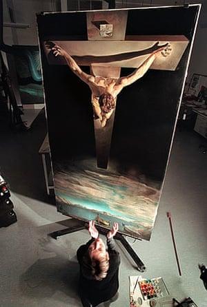 Salvador Dali's Christ of St John of the Cross