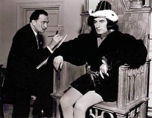 Salvador Dali painting Laurence Olivier