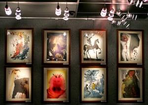 Dali's watercolours