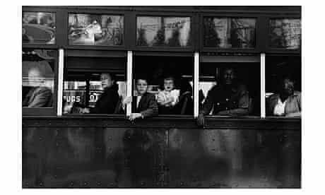 Robert Frank: Trolley - New Orleans
