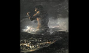 The Colossus attributed to Goya