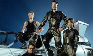 Battlestar Galactica: Edward James Olmos, Katee Sackhoff, Jamie Barber and Grace Park