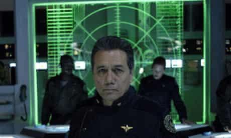 Battlestar Galactica: Edward James Olmos as Adama