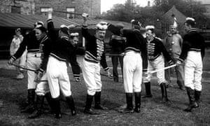 Handsworth Longsword team circa 1910