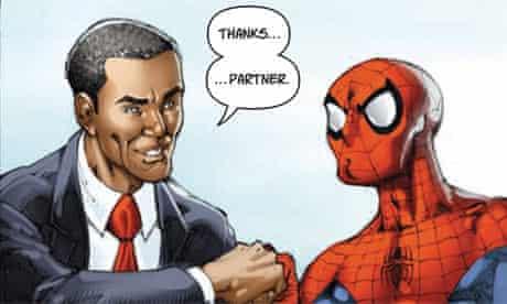 spider man obama