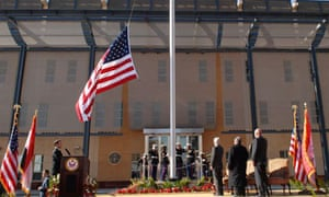 inauguaration of the new US Embassy in Baghdad on January 5, 2009