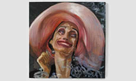 Dawn Mellor's portrait of Kristen Scott Thomas (2009)