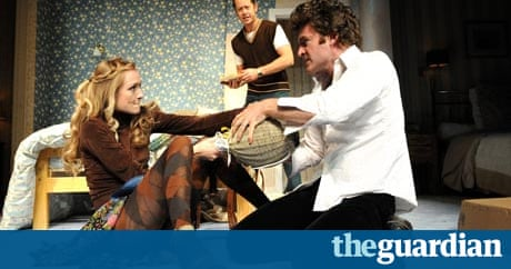 bedroom farce miss julie theatre review stage the guardian