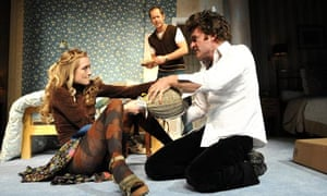 bedroom farce miss julie theatre review stage the guardian. Black Bedroom Furniture Sets. Home Design Ideas