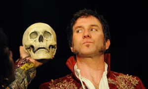 Jo Stone-Fewings (Orsino) in Twelfth Night by the RSC at Courtyard theatre