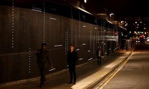 Light in Neville Street Tunnel, Leeds – HIGHER RES