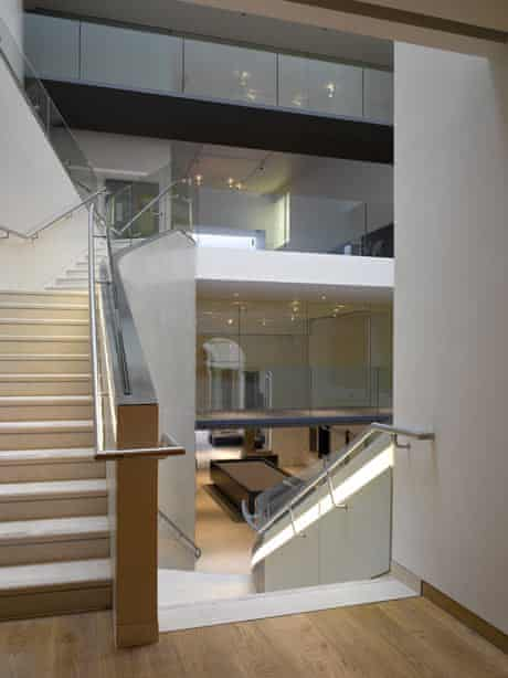 Ashmolean museum extension, in Oxford, managed by Rick Mather Architects