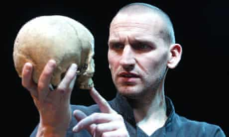 Christopher Eccleston as Hamlet at West Yorkshire Playhouse