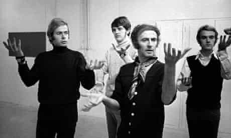 Marcel Marceau giving courses to deaf and dumb young people