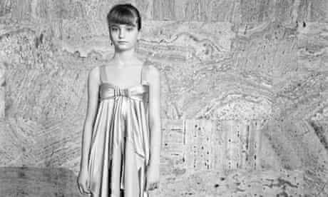 Girl in a Golden Dress, Georgia (2009) by British photographer Vanessa Winship