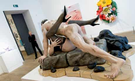 Jeff Koons at Pop Life at Tate Modern