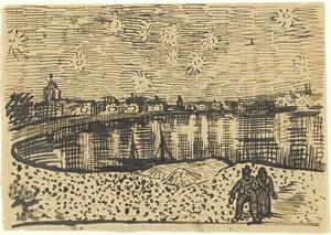 Sketch sent with a letter from Vincent van Gogh to Eugène Boch, Arles, 2 October 1888