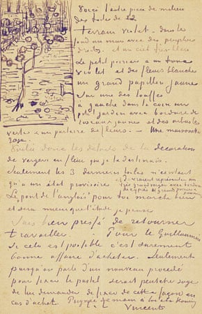 Letter by Vincent van Gogh to his brother Theo, c 13 April 1888