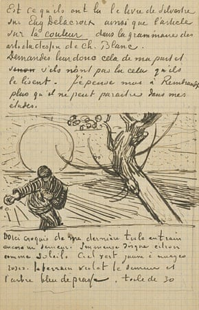 Letter by Vincent van Gogh to his brother Theo, Arles, c. 21 November 1883