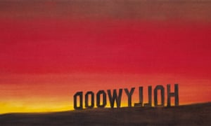 The Back of Hollywood (1977) by Ed Ruscha