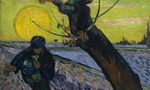 The sower (1888) by Vincent van Gogh