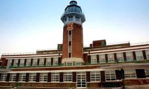 Liverpool's former Speke Airport terminal building