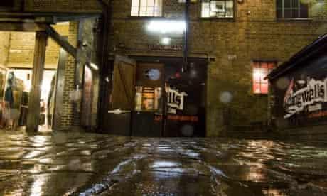Jongleurs comedy club at Dingwalls, Camden, London