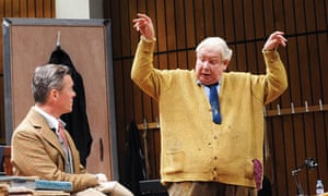 Alex Jennings and Richard Griffiths in The Habit of Art at the Lyttelton