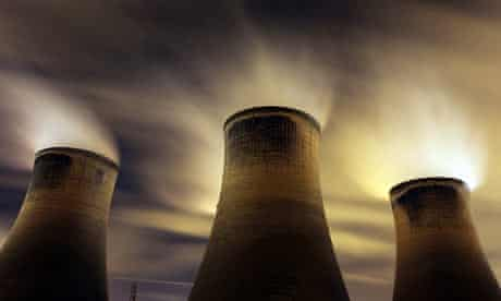 Coal-fueled Fiddlers Ferry power station in Warrington