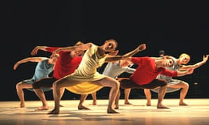 Richard Alston Dance Company dance to the music of Steve Reich at the Barbican, London