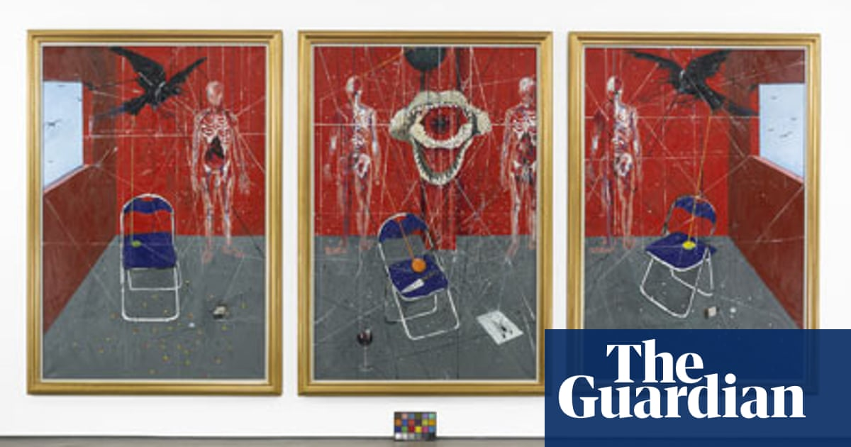 Damien Hirst A Painter S Progress Art And Design The Guardian