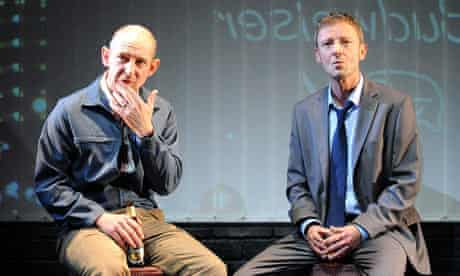 Ian Hart and John Simm in Speaking In Tongues at the Duke Of York's theatre