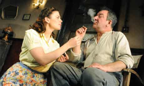 Ken Stott with Hayley Atwell in A View from the Bridge at the Duke of York's theatre