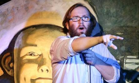 Comedian Daniel Kitson at Stand Comedy Club, Edinburgh