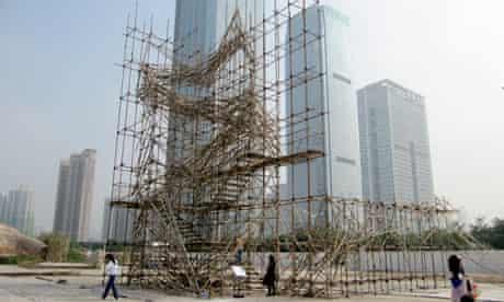 Artifact: Curtain Walls (2009) by sciSKEW, in Shenzhen