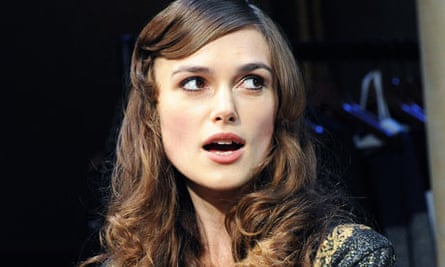 Keira Knightley in The Misanthrope