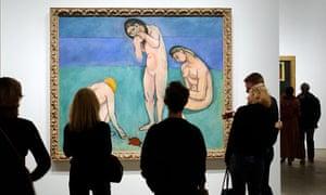 Henri Matisse's Three Bathers with Turtle (1908)